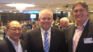 ACS joins Treasurer Scott Morrison