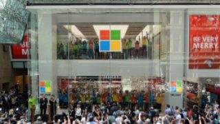 Microsoft opens Australian flagship store
