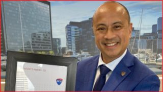 Richard Magalad wins ACS President's Award