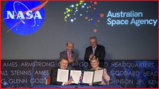 Australia enters space race with $150m NASA deal