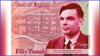Father of computer science honoured on bank note