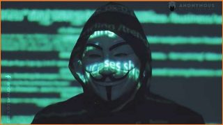 Anonymous returns amid US protests