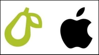 Apple sues over app's pear logo