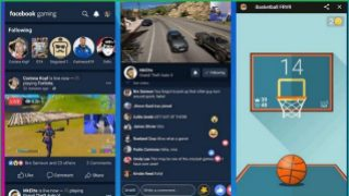 Facebook now has a gaming app
