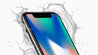 iPhone X makes a splash
