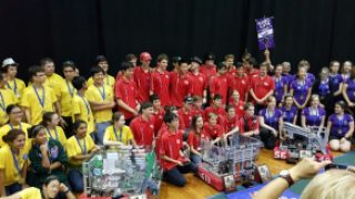 All-girl team wins robotics competition