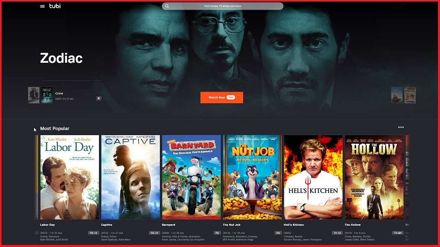 Free streaming service Tubi launches in Australia