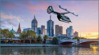 Uber to fly taxis in Melbourne by 2023