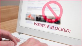 Blocked websites to stay blocked